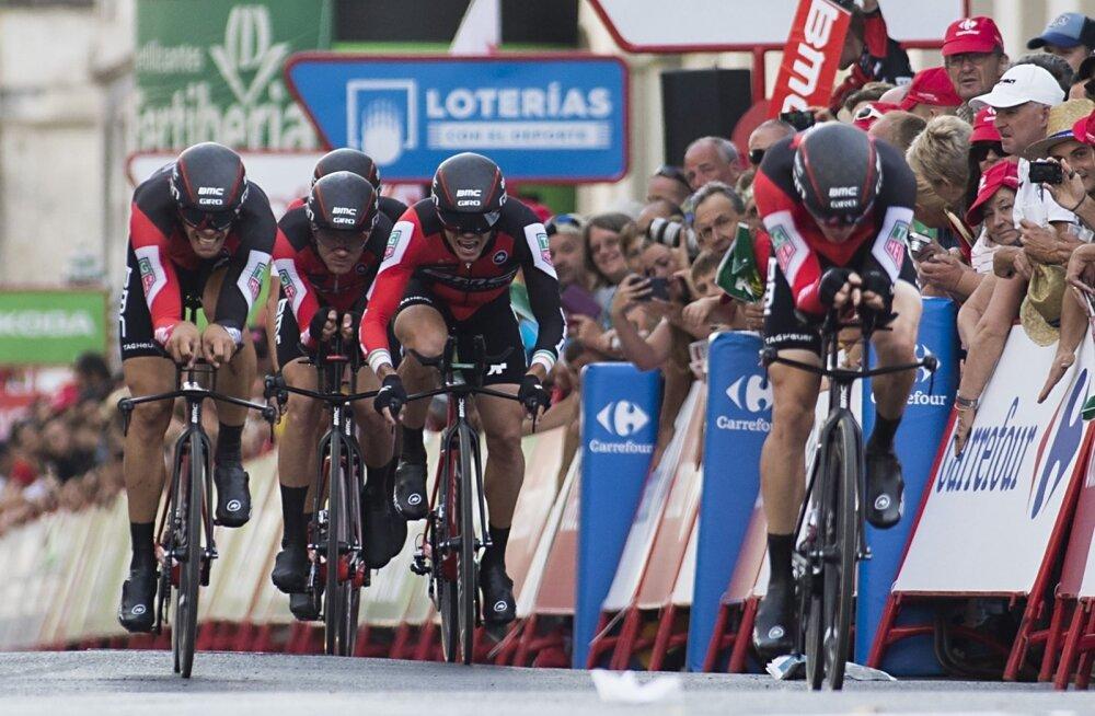 Võiduka BMC Racing meeskonna finiš