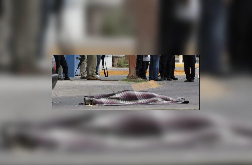 Mehhiko narkoravilas mõrvati kümme inimest