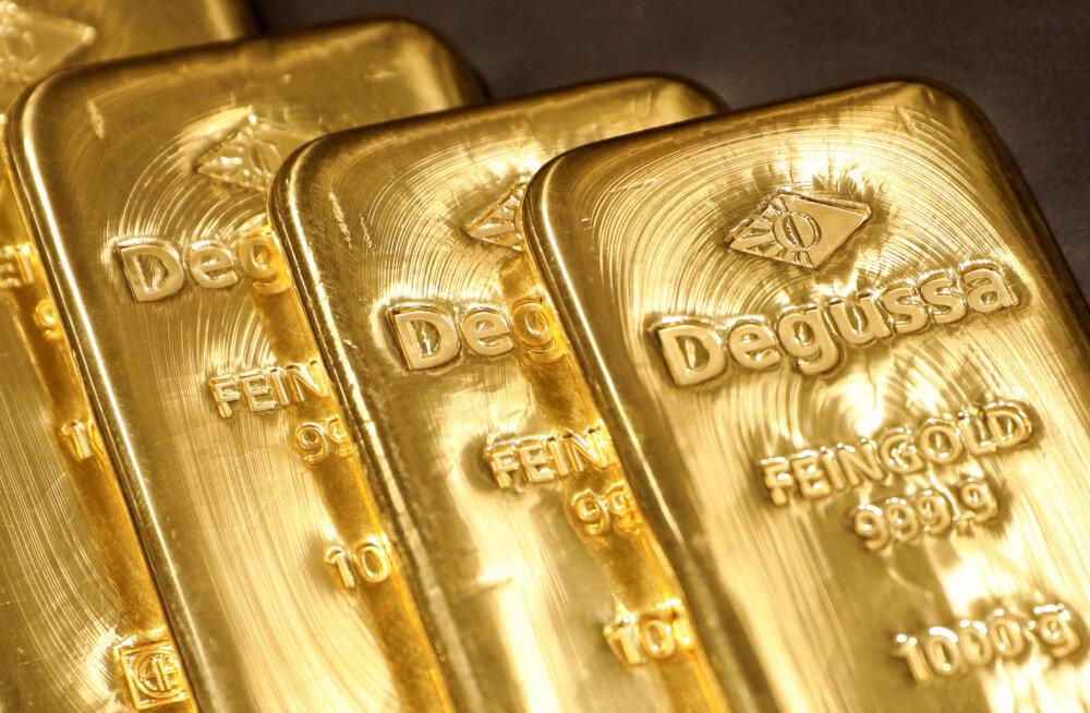 Šveitsi suurpank tõstis kulla hinnaootust