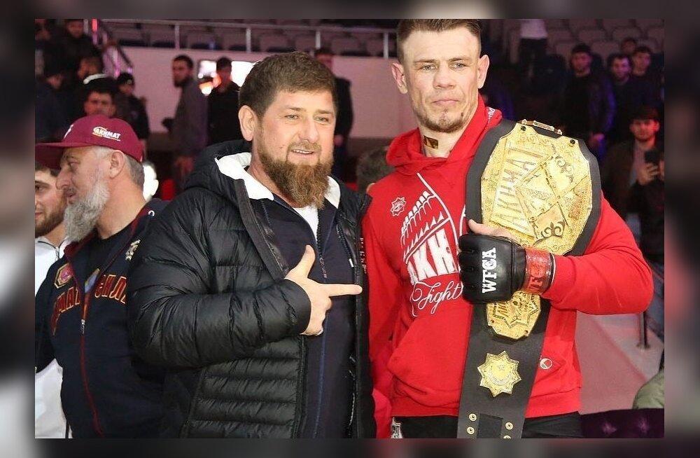 Ramzan Kadõrov ja Maxim Grishin