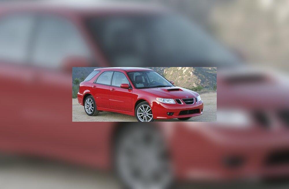 Saab 9-2x on Rootsi ninaga Jaapani auto USA turule