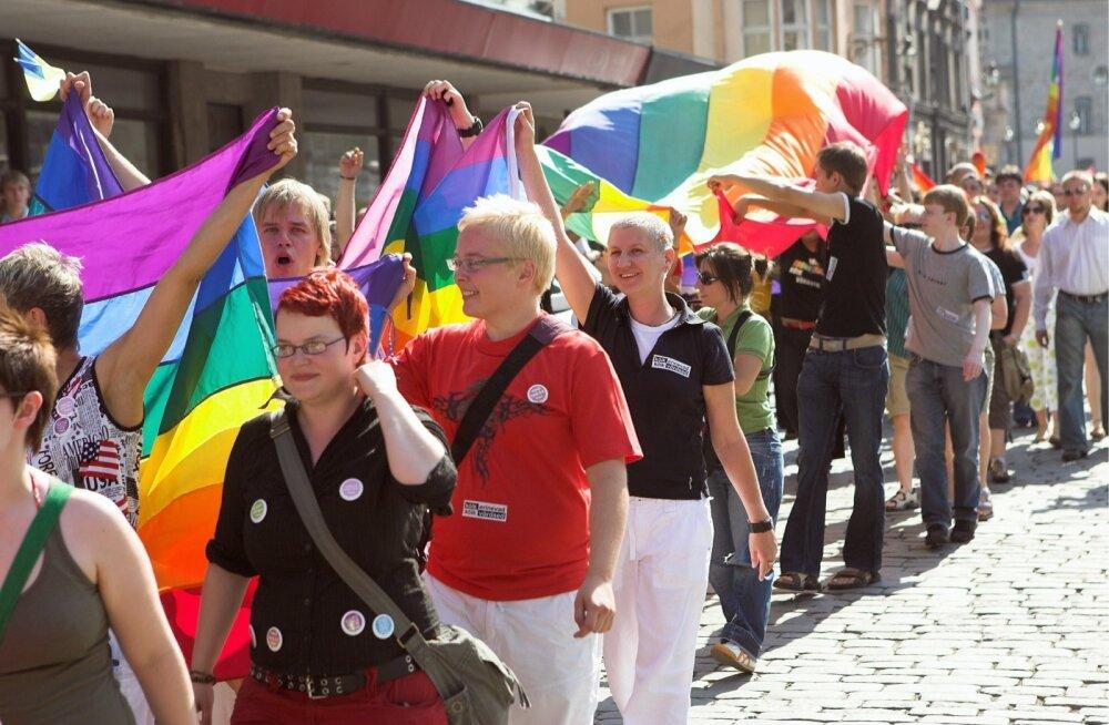 Tallinnas toimub suvel seksuaalvähemuste paraad