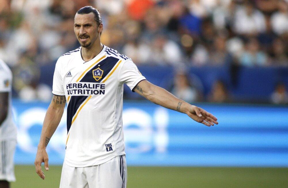 Ibrahimovic otsustas loobuda MLS-i tähtede mängust, karistuseks mängukeeld