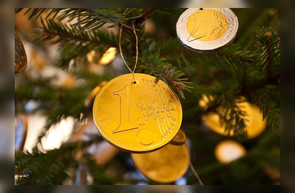 Eesti tarbija hoiab jõuluostudel emotsioonid vaos