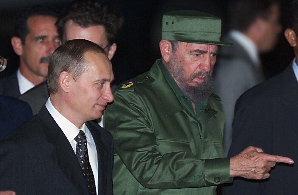 Castro, Putin