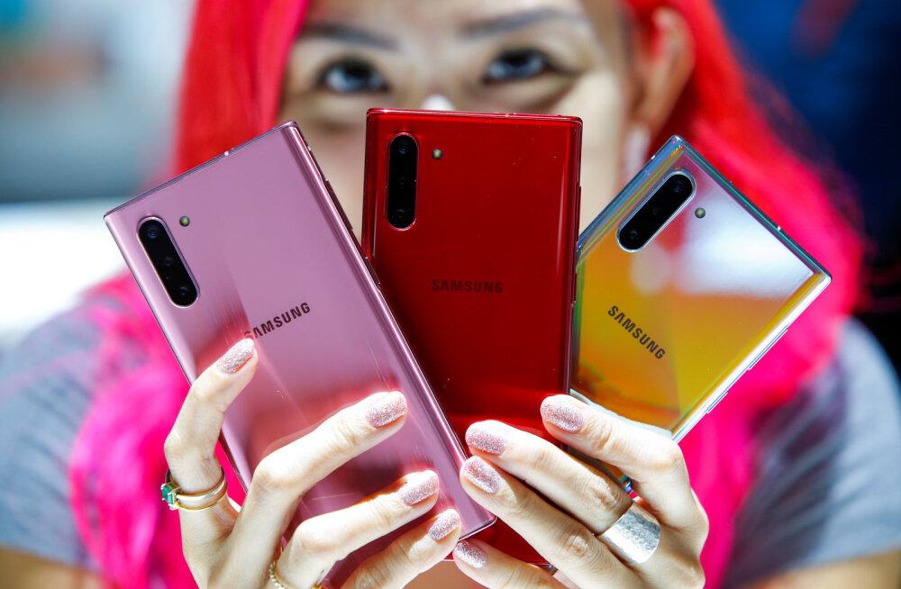 Samsung представил новые смартфоны Galaxy Note 10 и Galaxy Note 10+
