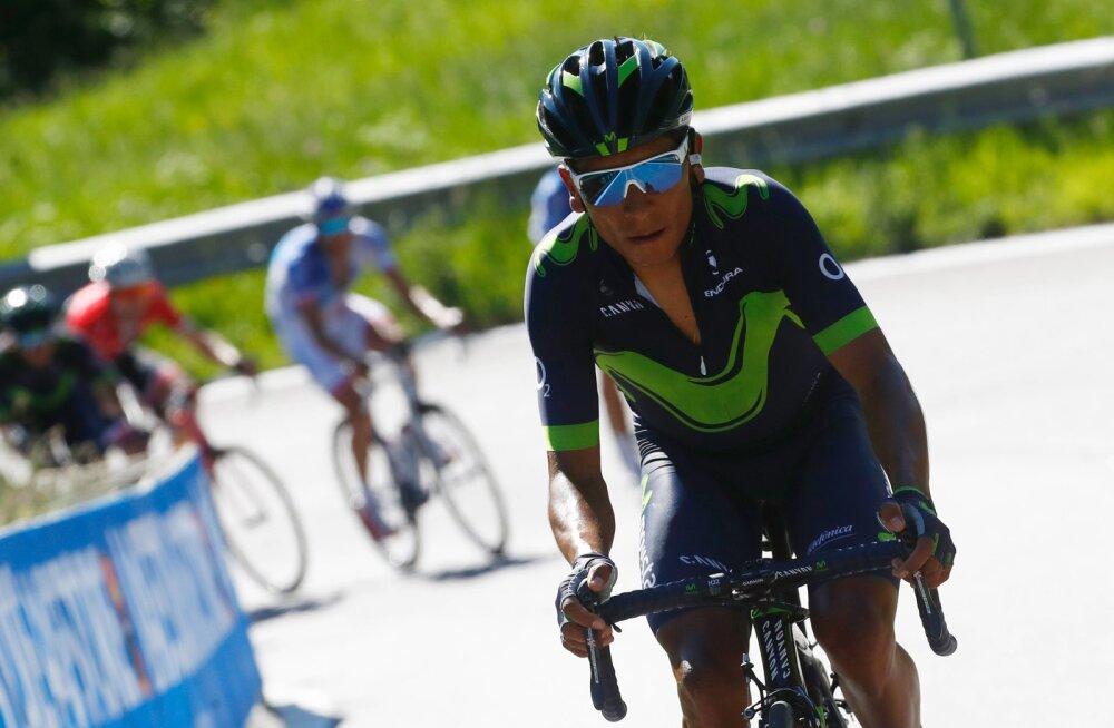 Landa võitis Giro 19. etapi, Quintana tõusis iidriks