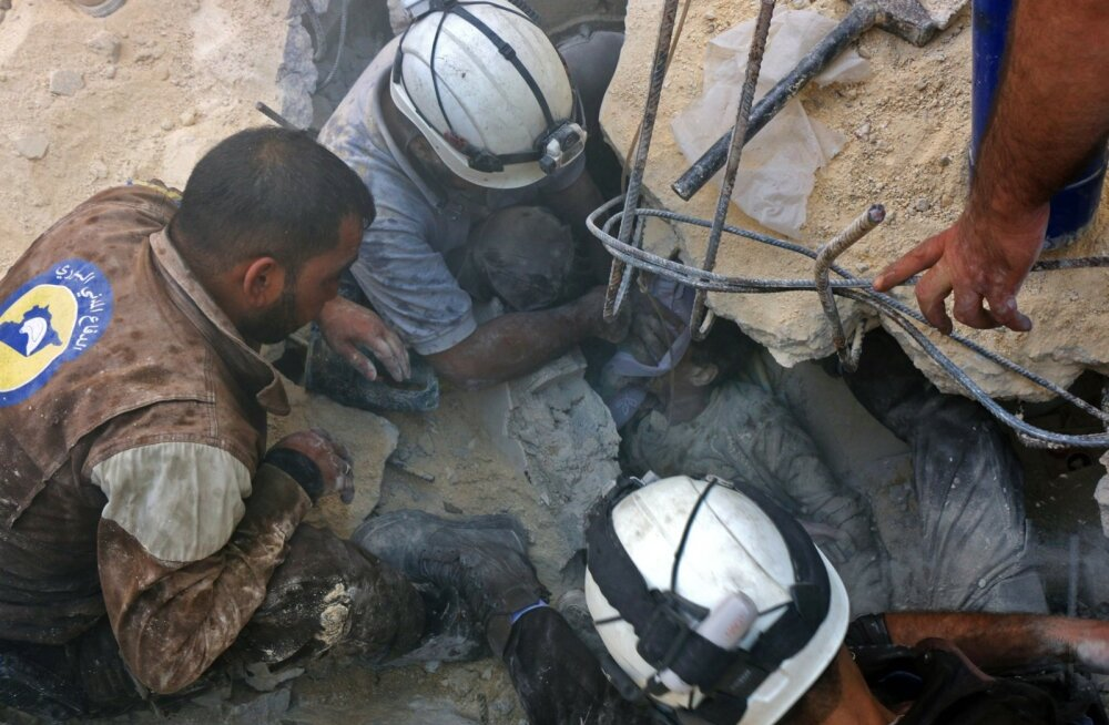 Vene õhurünnak Aleppos