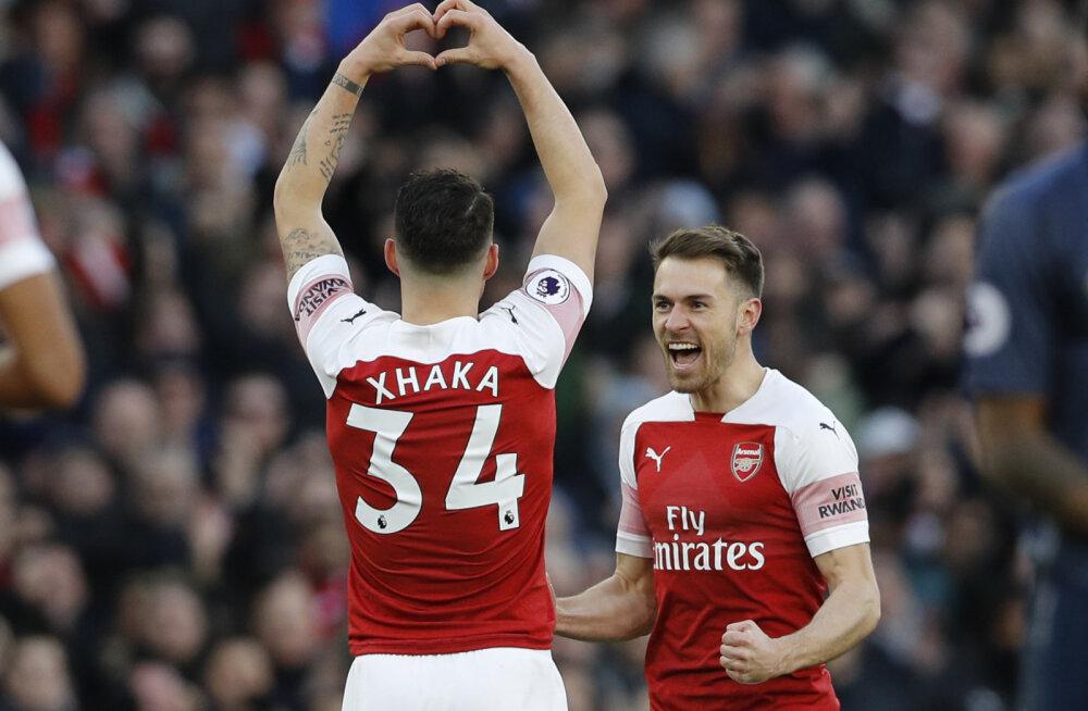 VIDEO   Arsenal lõpetas Ole Gunnar Solskjaeri suurepärase seeria