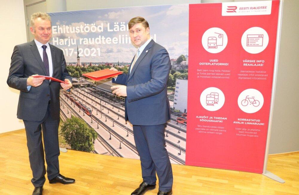 Eesti Raudtee allkirjastas ametiühinguga kollektiivlepingu