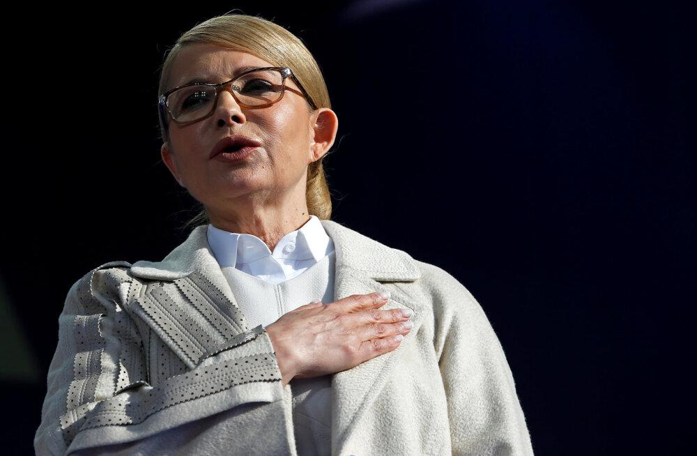 Ukraina ekspeaminister Julia Tõmošenko haigestus koroonaviirusesse ja on raskes seisundis