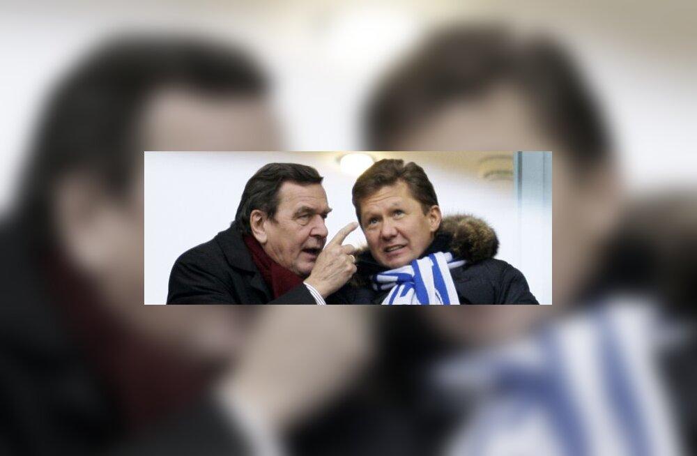 Schröder: NATO lõpetagu oma flirt Kiievi ja Tbilisiga