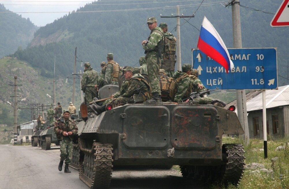 Russia Georgia War Anniversary