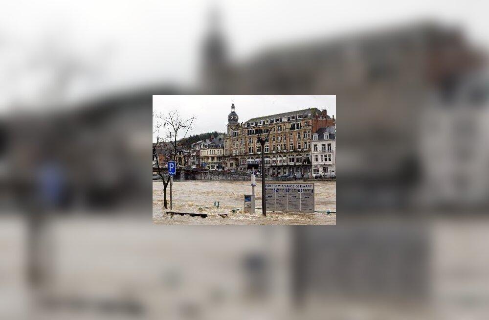 Üleujutus Belgias