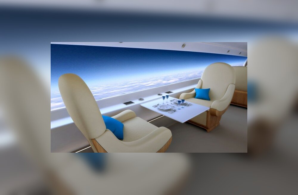 Sisevaade S-512 salongile. Spike Aerospace / Wired