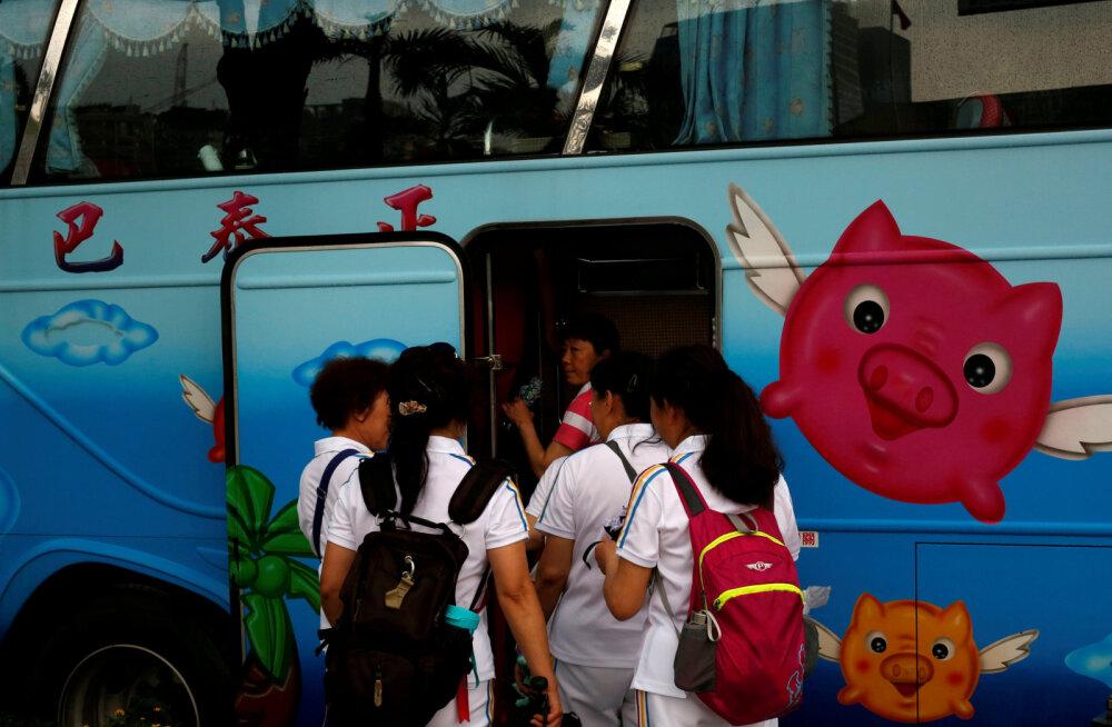 Hiina turistid kulutavad välismaal märkimisväärselt raha