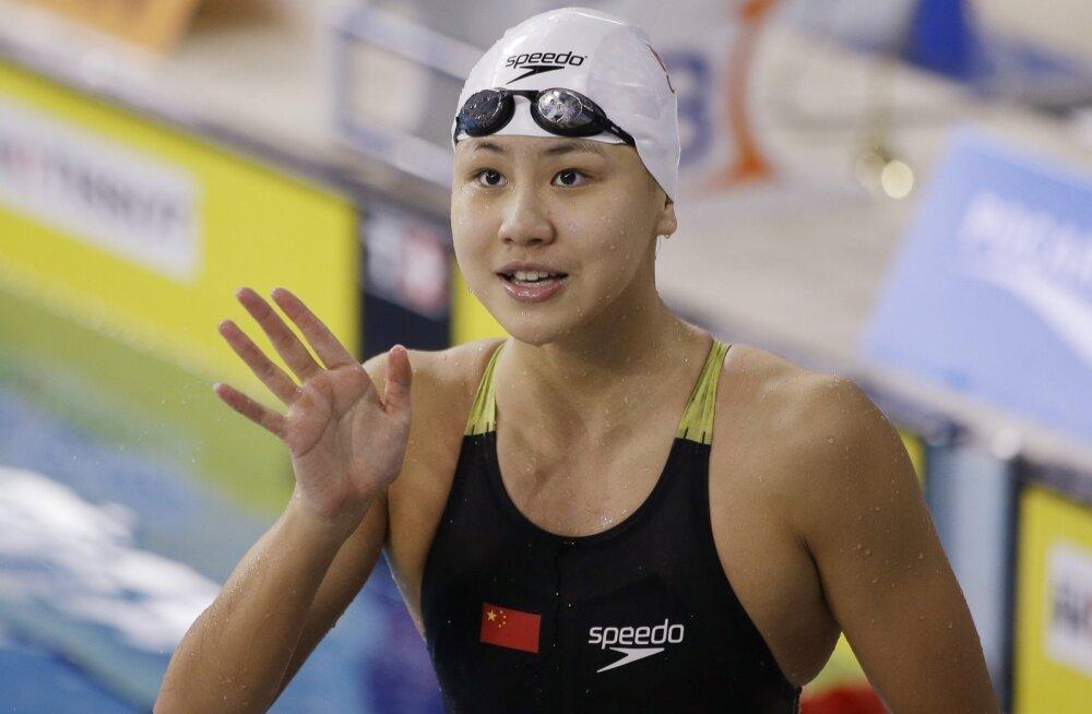 Hiina ujuja Chen Xinyi.