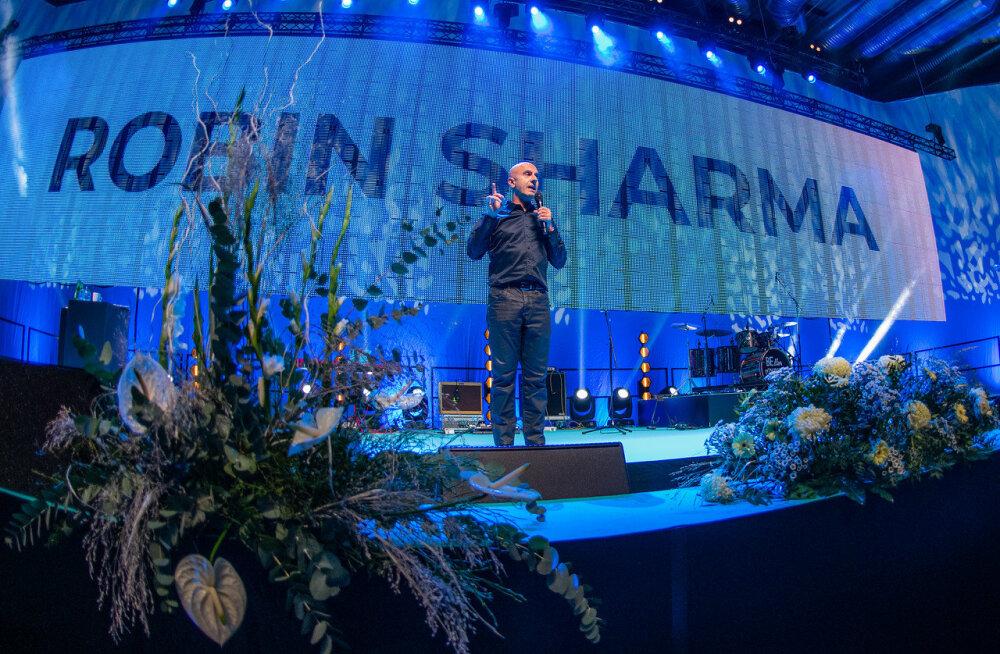Guru Robin Sharma eestlastele: tervis on terve inimese kroon, mida näeb ainult see, kes seda ei kanna