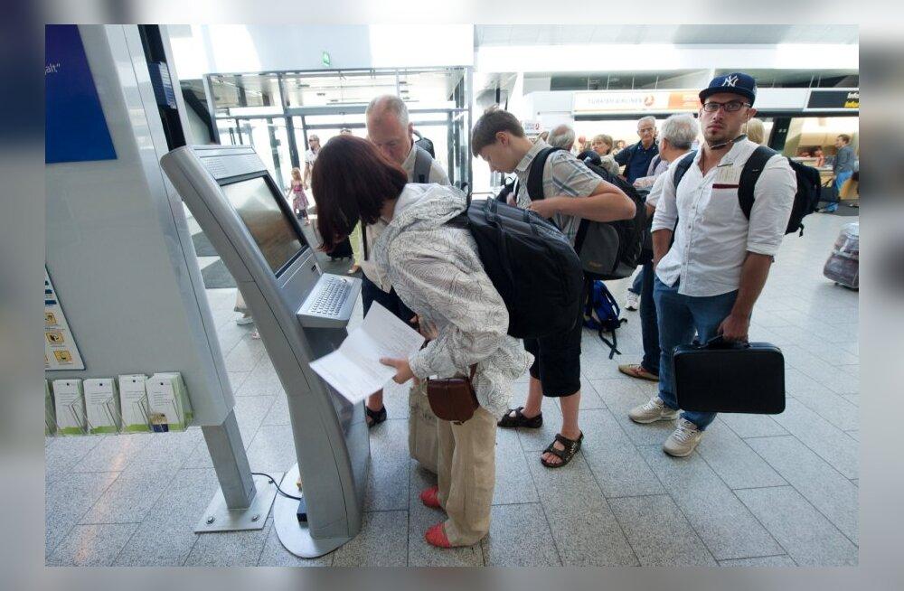 Iseteenindus Tallinna Lennujaamas