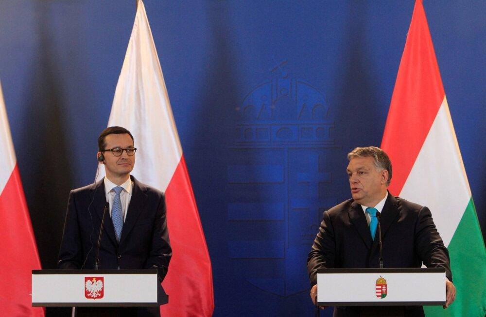Poola teatas, et blokeerib kõik EL-i sanktsioonid Ungari vastu
