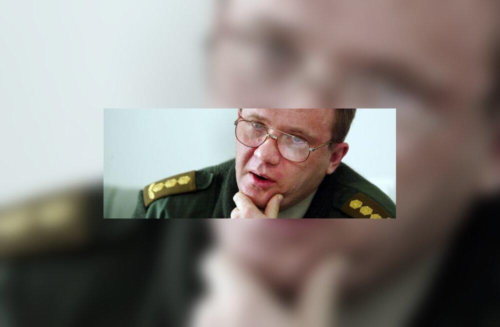 Kindral: presidendi nõunik eelistab süldikogusid