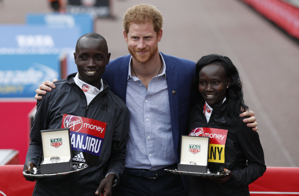Londoni maratoni võitjat kahtlustatakse dopingu tarvitamises