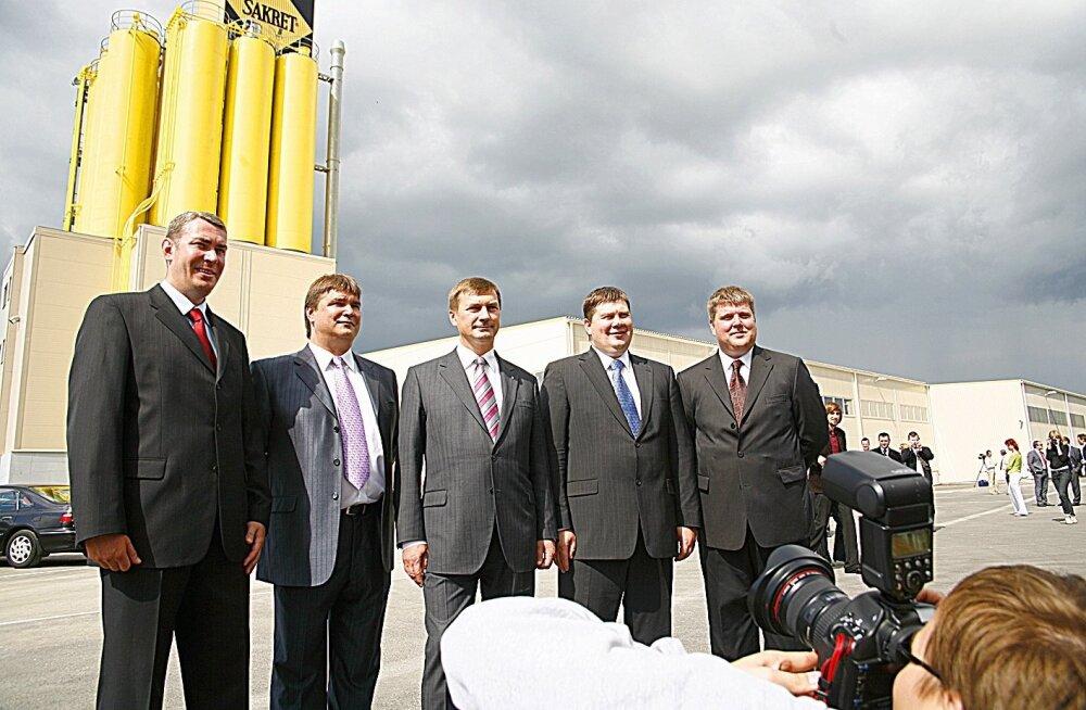 Sakreti kuivsegude tehase avamine 2007.aastal
