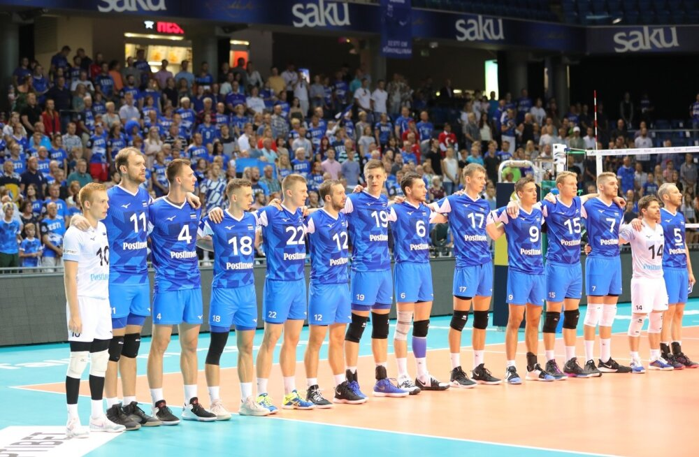 Meeste võrkpallikoondis võõrustab Saku Suurhallis ka tugevat Bulgaariat