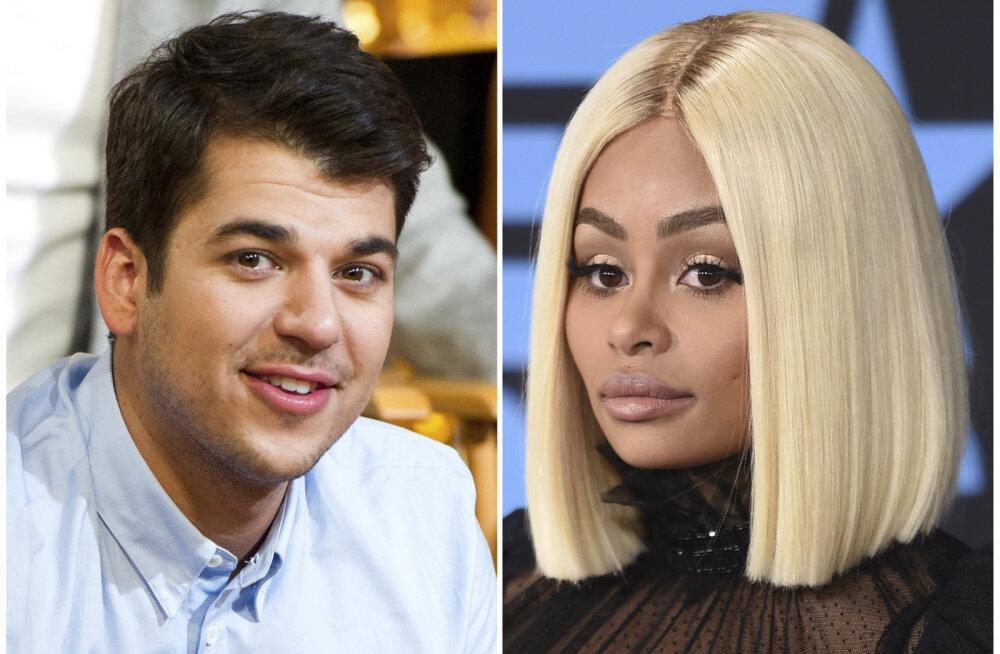 Rob Kardashian nõuab tütre ainuhooldusõigust: lapse ema on alati purjus, narkouimas ja vägivaldne