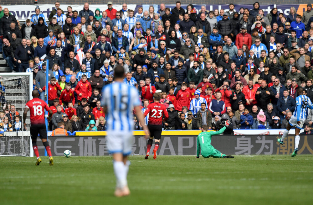 Isaac Mbenza  lööb Manchester Unitedile värava