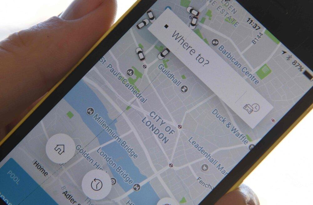 Head aega, sõidujagamine: Uber jäi Londonis kasutuslitsentsist ilma