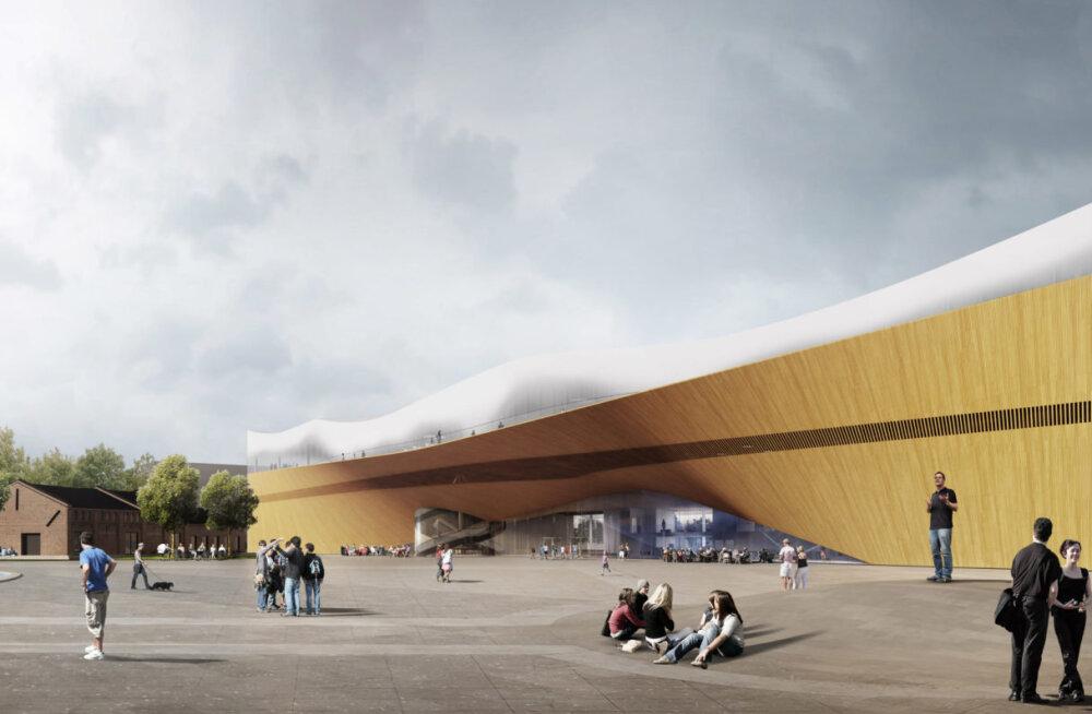FOTOD ja VIDEO: Saage tuttavaks! Helsingis avatakse peagi regiooni üks võimsaim raamatukogu, pidustused kestavad mitu päeva