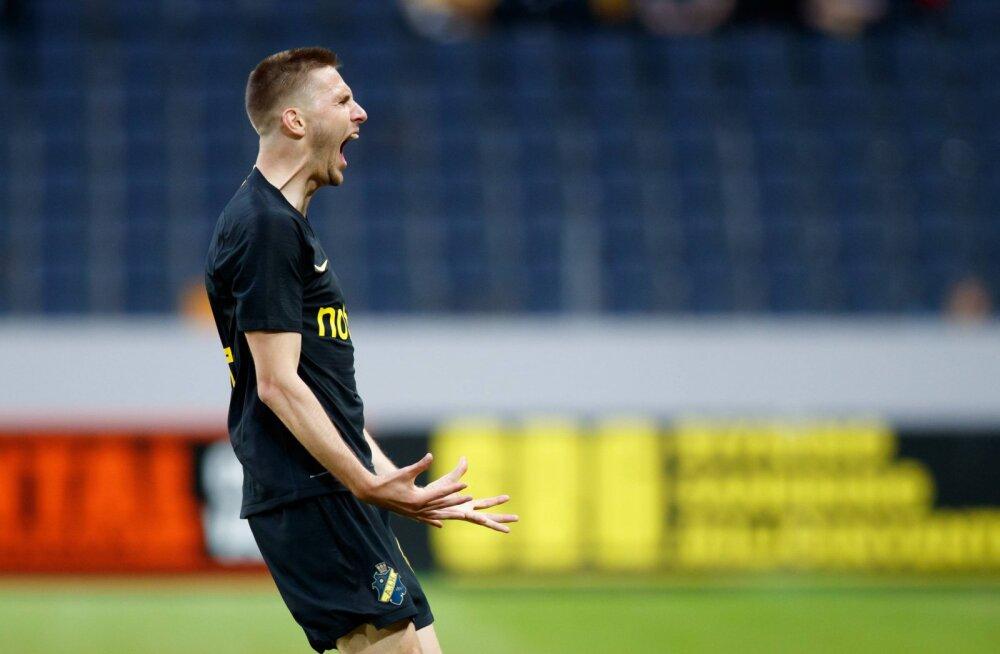 Karol Mets aitas hea esitusega Rootsi suurimas derbis AIK võidule