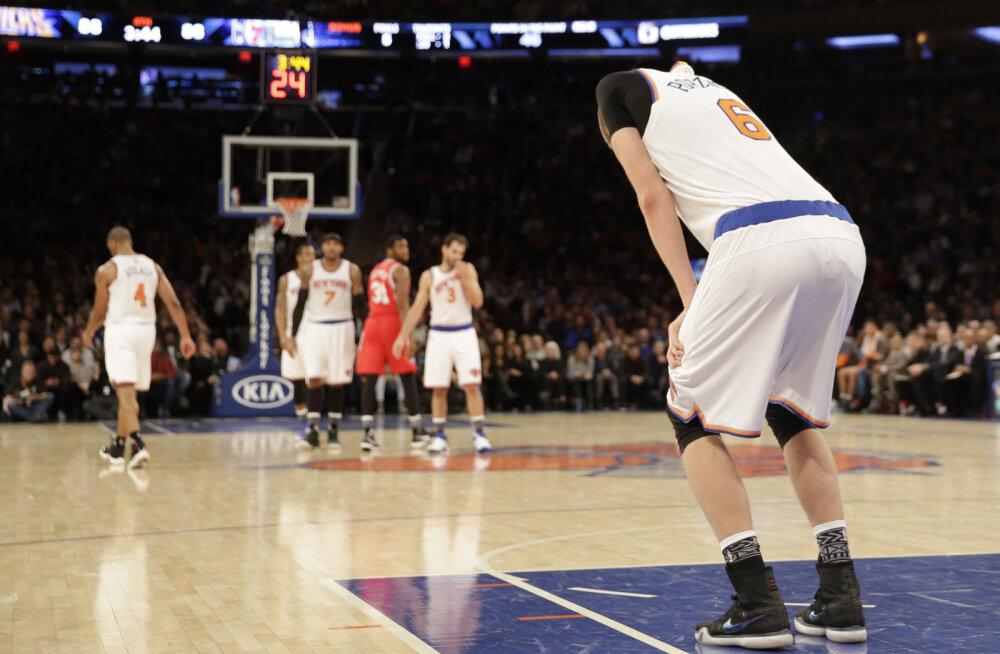 VIDEOD: Neli NBA kohtumist läks lisaajale, Warriors ei jätnud Cavaliersile sõnaõigustki