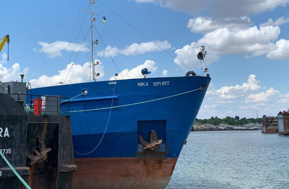 Украина арестовала российский танкер Nika Spirit