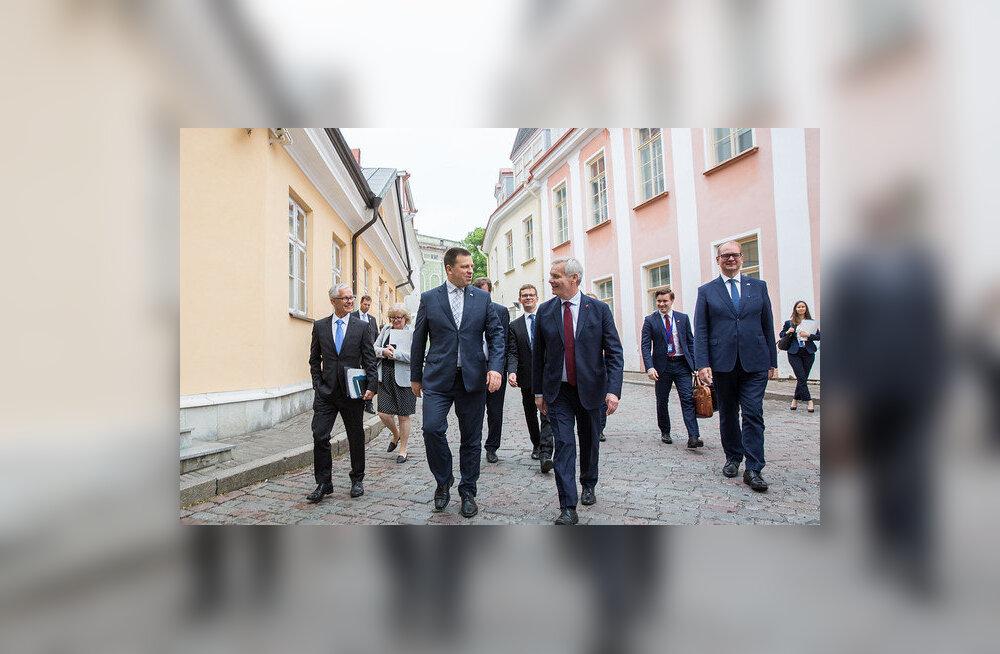 Премьер-министры Эстонии и Финляндии обсудили проект туннеля между Таллинном и Хельсинки