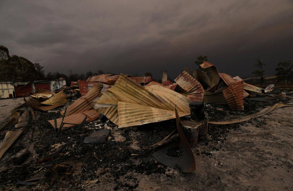 Austraalia võsapõlengute kriisis on hävinud ligi 2000 majapidamist