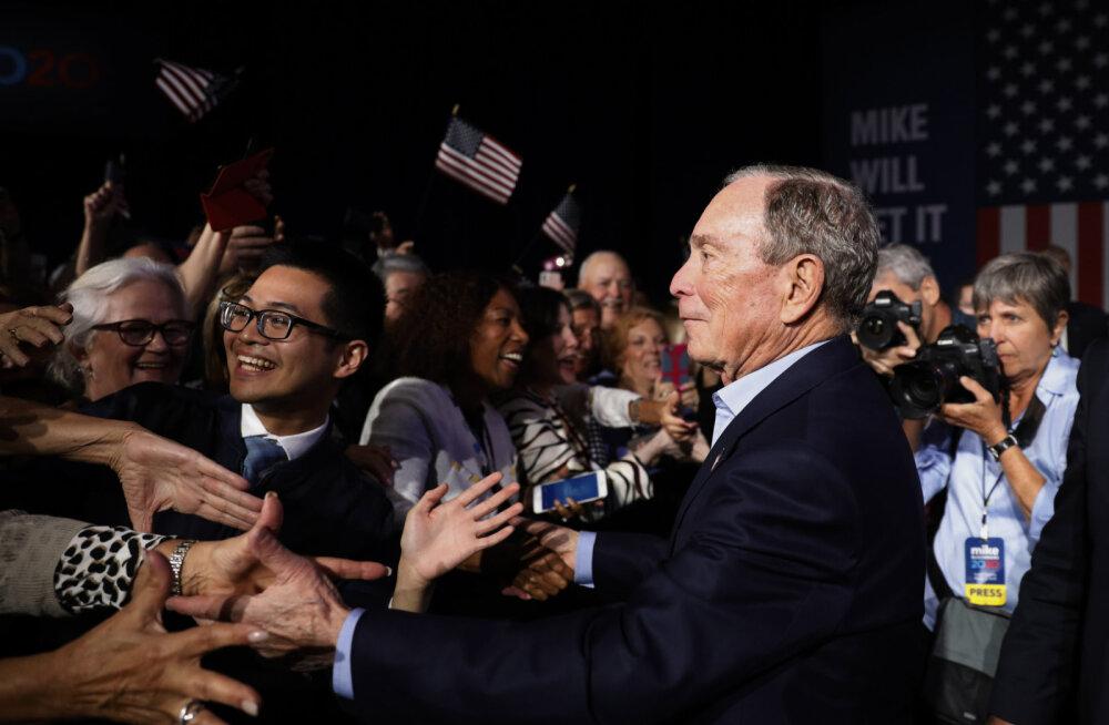 Michael Bloomberg lootis, et sillutab oma hiigelvaranduse abil tee Valgesse Majja. Läks teisiti.