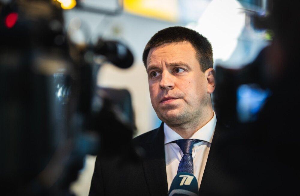 Jüri Ratas minister Järvikuga seotud skandaalist: valitsuses ei ole kohta huvide konfliktile ega korruptsioonikahtlustele