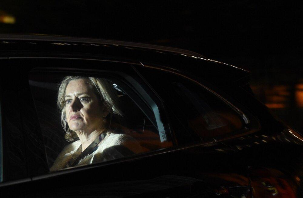 Johnsoni valitsus laguneb: Briti tööminister Amber Rudd astus protestiks tagasi