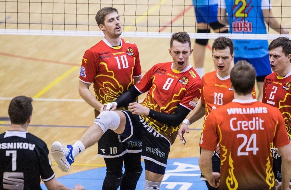 Balti liiga veerandfinaal Tallinna Selver - Jekabpils