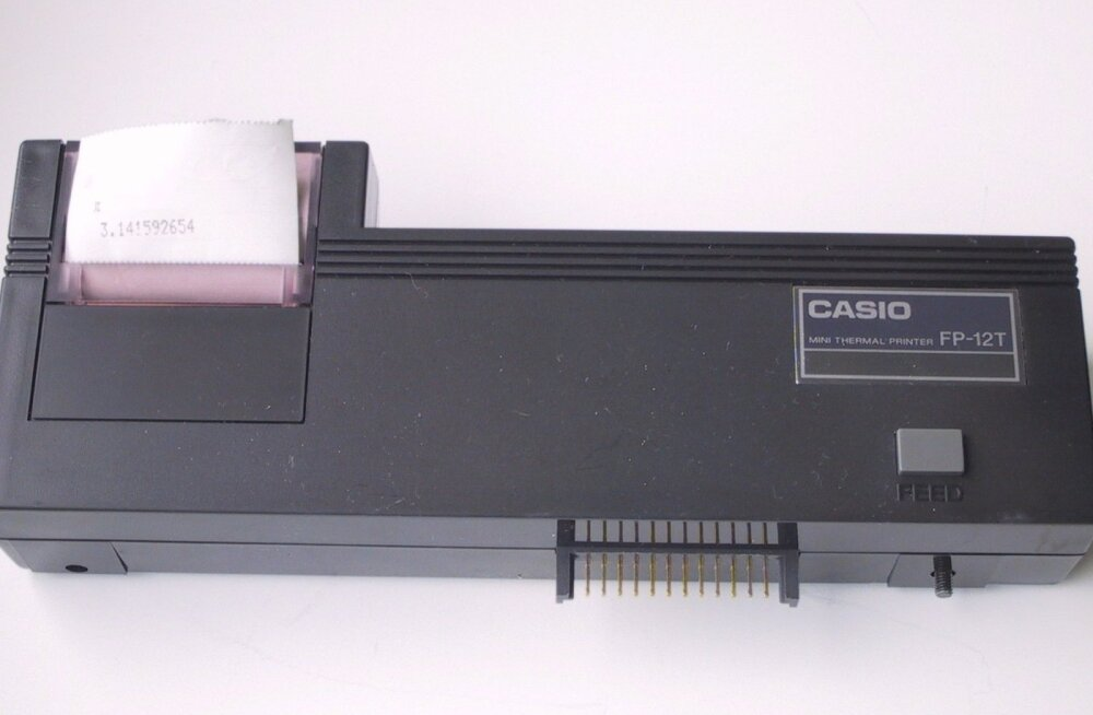 Casio tšekiprinter