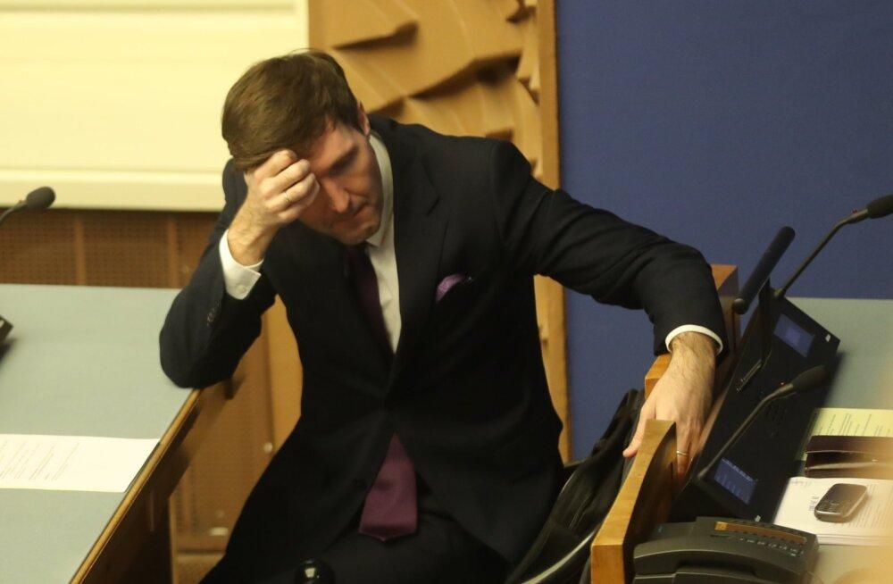 Rahandusminister Martin Helme lausus, et pensionireform ei ole sajandi sigadus.
