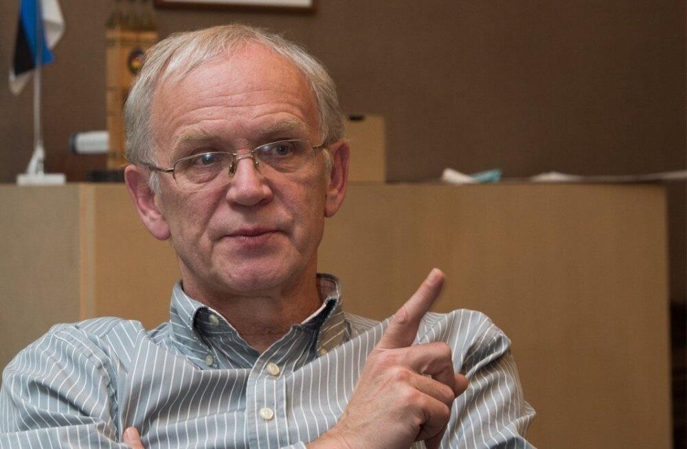 Eiki Nestor - Riigikogu esimees
