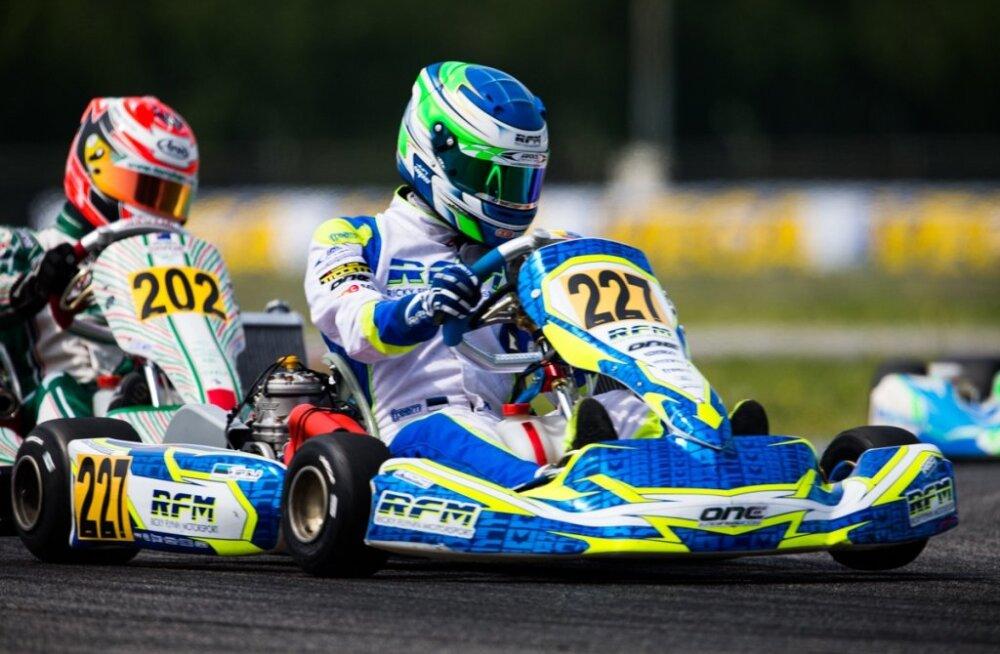 Noor kardisõitja Jüri Vips saavutas EMi esimesel etapil 7. koha