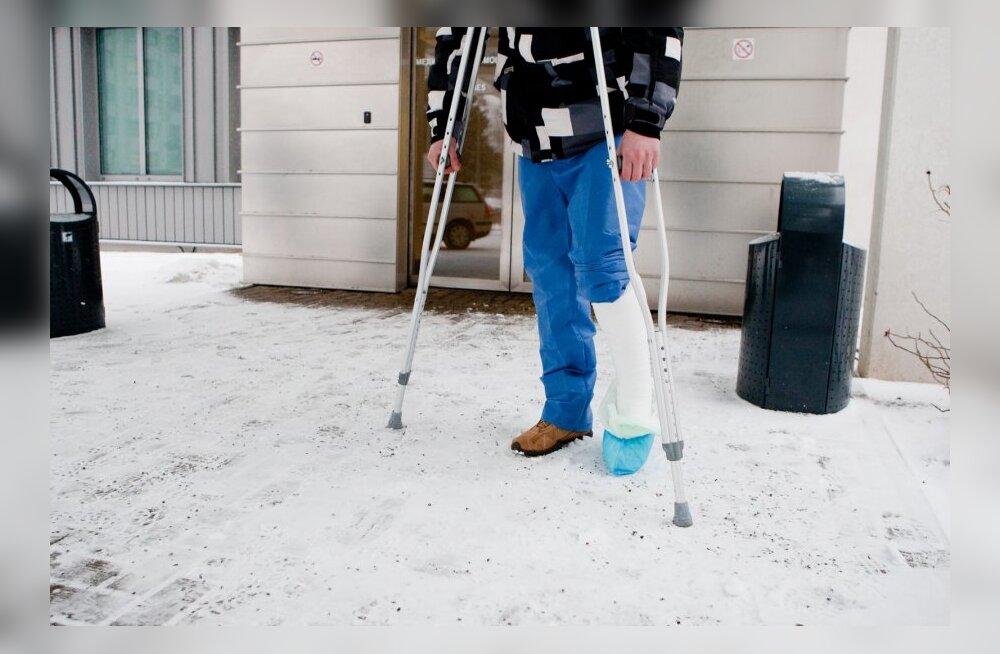 Lumised ilmad toovad ohtralt vigastustega seotud kindlustusjuhtumeid