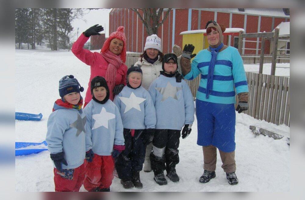 Järvamaa lasteaedade talimängud 2012 toimusid Ambla Lasteaed-Põhikoolis