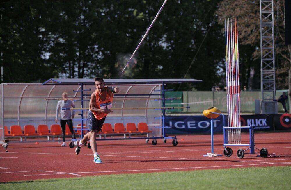 Magnus Kirt kerkis Eesti rekordiga maailmas hooaja edetabelis 5. kohale.