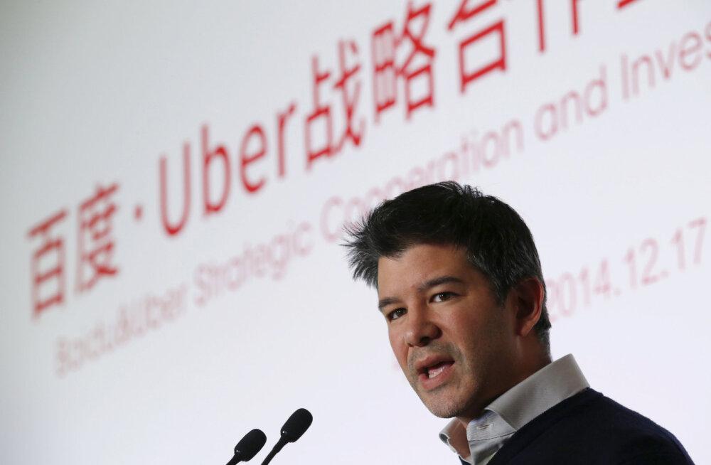 Kurikuulus Uber tahab 3 miljardi dollariga ära osta Nokia kaardirakenduse HERE