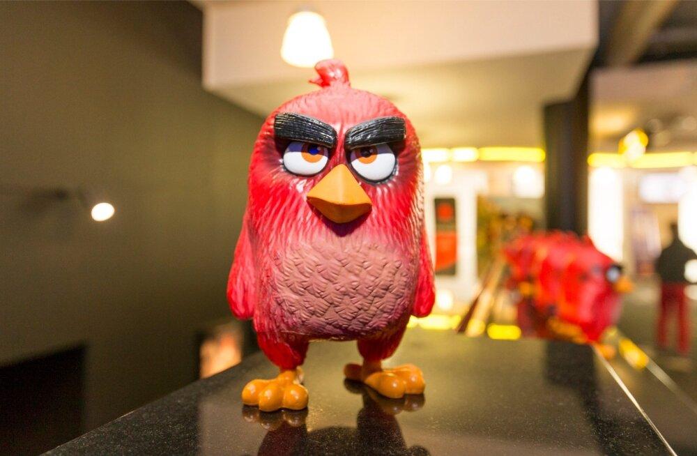 Angry Birdsi filmi esitlus